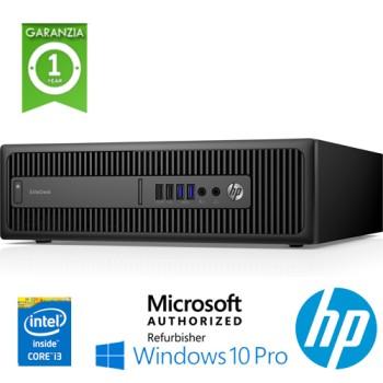 PC HP EliteDesk 800 G2 SFF Core i3-6100 3.7GHz 4Gb Ram 500Gb Windows 10 Professional