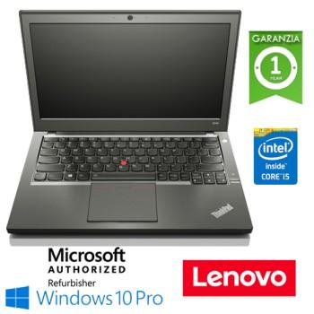 Notebook Lenovo Thinkpad T450S Slim Core i5-5300U Quinta Gen. 8Gb 500Gb 14.1' Windows 10 Professional