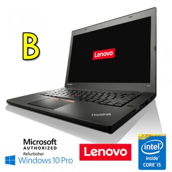 Notebook Lenovo Thinkpad T450 Core i5-5300U Quinta Gen. 8Gb 500Gb 14' Windows 10 Professional [GRADE B]