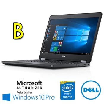 Notebook Dell Latitude E5470 Core i5-6200U 4Gb 500Gb 14.1' WEBCAM Windows 10 Professional [Grade B]