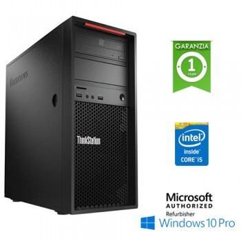 Workstation Lenovo ThinkStation P300 Core i5-4590 3.3GHz 8Gb 1Tb DVD-RW Windows 10 Pro