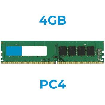 UPGRADE da 4Gb a 8Gb 24PIN PC4 21600-2666mhz DIMM x PC (Ordinabile solo con nostri PC)