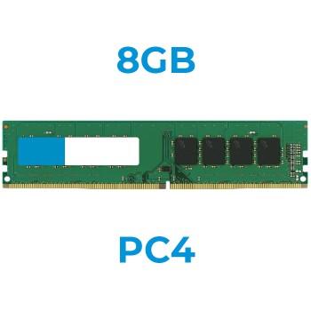 UPGRADE da 8Gb a 16Gb 24PIN PC4 21600-2666mhz DIMM x PC (Ordinabile solo con nostri PC)