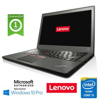 Notebook Lenovo Thinkpad X250 Core  i5-5200U 8Gb 128Gb SSD 12.5' WEBCAM Windows 10 Professional