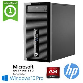 PC HP ProDesk 405 G2 MT AMD A8-6410 2.0GHz 8Gb Ram 500Gb DVD-RW Windows 10 Professional