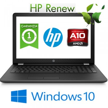 Notebook HP 15-bw012nl AMD A10-9620P 8Gb 1Tb 15.6' HD BV DVD-RW AMD Radeon 530 Windows 10 HOME