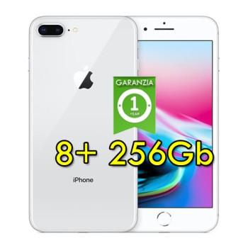 Apple iPhone 8 Plus 256Gb Silver A11 MQ9P2J/A 5.5' Argento Originale iOS 12