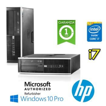 PC HP Compaq 8300 Elite Core i7-3770 3.4GHz 8Gb Ram 500Gb DVD SFF Windows 10 Professional