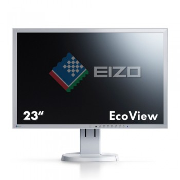 Monitor LCD 23 Pollici Eizo FlexScan EV2316W Full HD LED 1920x1080 White-Silver