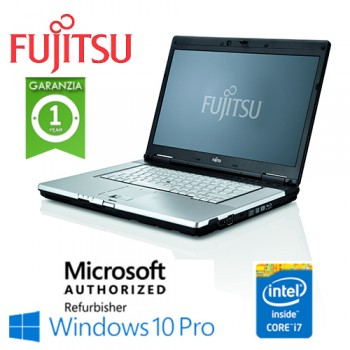 Notebook Fujitsu Celsius H710 Core i7-2640M 8Gb 256Gb DVD-RW 15.6' Nvidia Quadro 1000M 2GB Win. 10Professional