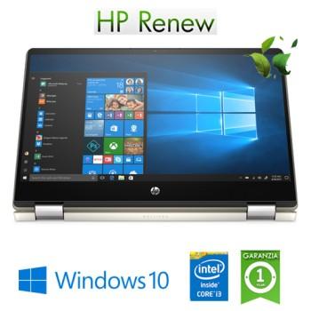 Notebook HP Pavilion x360 14-dh1007nl Intel Core i3-10110U 2.1GHz 8Gb 256Gb SSD 14' FHD Windows 10 HOME