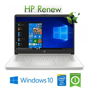 Notebook HP 14s-dq0020nl Intel Core i7-8565U 8Gb 512Gb SSD 14' FHD IPS LED Windows 10 HOME