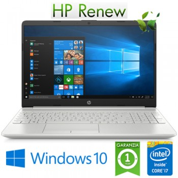 Notebook HP 15-dw1020nl Core i7-10510U 1.8GHz 8Gb 1128Gb SSD 15.6' Geforce MX130 2GB FHD Windows 10 HOME