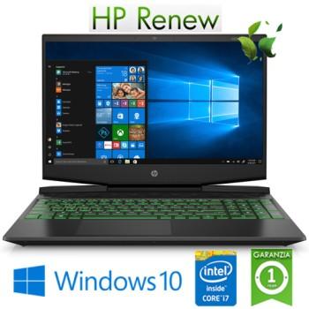 Notebook HP Pavilion 15-dk0036nl i7-9750H 16Gb 512Gb SSD 15.6' NVIDIA GeForce GTX 1650 4GB Gaming Win. 10HOME