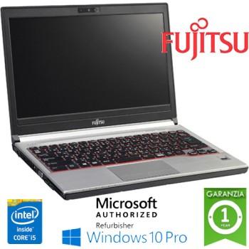 Notebook Fujitsu Lifebook E736 Core i5-6300U 8Gb Ram 256Gb SSD 13.3' Windows 10 Professional