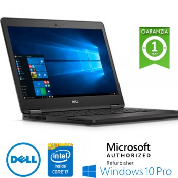 Notebook Dell Latitude E5470 Core i7-6600U 8Gb 256Gb SSD 14' Windows 10 Professional