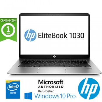 HP EliteBook 1030 G1 m7-6Y57 8Gb Ram 256Gb SSD 13.3' Windows 10 Professional