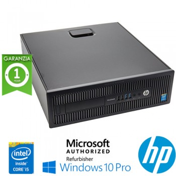 PC HP ProDesk 600 G1 SFF Core i5-4670 3.4GHz 8Gb 500Gb NO-ODD Windows 10 Professional