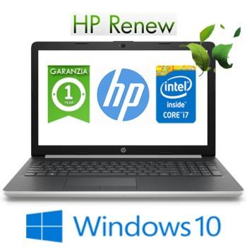 Notebook HP 15-da0132nl Core i7-7500U 2.7GHz 8Gb 512Gb SSD 15.6' HD NVIDIA GeForce MX130 2GB Windows 10 HOME