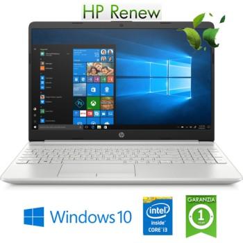 Notebook HP 15s-fq0003nl Intel Core i3-8145U 8Gb 256Gb SSD 15.6' HD Windows 10 HOME