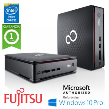 UltraSlim Tiny PC Fujitsu Esprimo Q910 Core i5-3470T 2.9GHz 4Gb 128Gb SSD Windows 10 Professional
