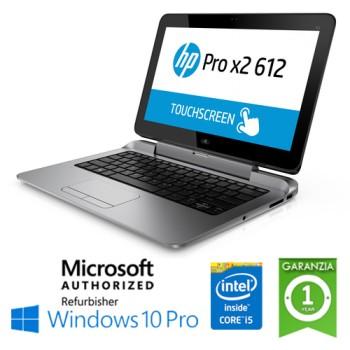 Notebook Convertibile HP PRO X2 612 G1  Core i5-4202Y 8Gb Ram 256Gb SSD 12.5' HD LED Windows 10 Professional