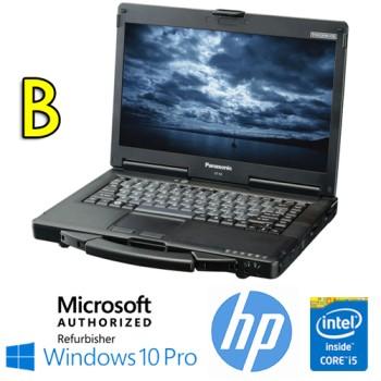 Notebook Panasonic Toughbook CF-53 Rugged Core i5-4310M 8Gb 256Gb SSD 14.1' SERIALE Windows 10 Pro [Grade B]