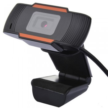 Webcam LINK USB CON MICROFONO INCORPORATO, HD 1280X720P, 30FPS, CAVO USB 2.0 LUNGHEZZA 1.5M, PLUG AND PLAY
