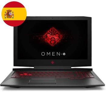 HP Omen 15-ce013ns i7 RAM8Gb HDD1Tb 15.6' NVIDIAGeForceGTX10502GBGDDR5 Win 10 Home(Reacondicionado)ES 1RH55EAR