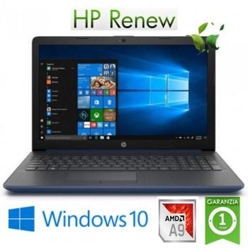 HP 15-db0081ns AMD A9 RAM8Gb SSD256Gb 15.6' Win 10 Home (Reacondicionado) ES 6EN72EAR#ABE
