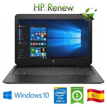 HP Pav 15-bc507ns i5 RAM8Gb SSD512Gb 15.6' NVIDIAGeForceGTX1050 Win 10 Home (Reacondicionado)ES 6WE94EAR#ABE
