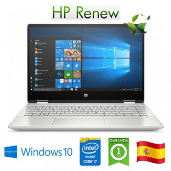 Notebook HP 14-dh1005ns i7-10510U 8Gb 512Gb SSD 14' Nvidia GeForce MX250 2GB Win 10 HOME [LINGUA SPAGNOLA]