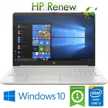 Notebook HP 15-dw2022nl Core i5-1035G1 1.0GHz 12Gb 256Gb SSD 15.6' FHD Nvidia Geforce MX130 2GB Win. 10 HOME