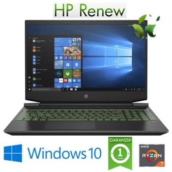 Notebook HP Pavilion Gaming 15-ce0000nl R7-3750H 8Gb 512Gb SSD 15.6' FHD GTX 1060 4GB Windows 10 HOME