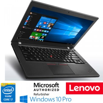 Notebook Lenovo Thinkpad T460S Slim Core i7-6600U 8Gb 512Gb 14' Windows 10 Professional
