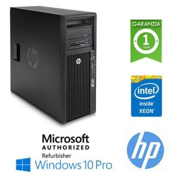 Workstation HP Z230 E3-1225 V3 3.2GHz 8Gb Ram 500Gb DVD-RW Nvidia Quadro NVS310 1Gb Windows 10 Professional