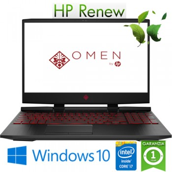 Notebook HP Omen 15-dc1045nl i7-9750H 8Gb 1Tb+256Gb 15.6' NVIDIA GeForce 1660Ti 6GB Gaming Windows 10 HOME