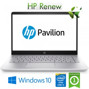 Notebook HP Pavilion 14-ce3039nl i5-1035G1 1.0 GHz 8Gb 512Gb SSD 14' FHD LED Windows 10 HOME