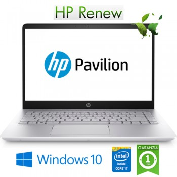 Notebook HP Pavilion 14-ce3032nl i7-1065G7 1.3 GHz 16Gb 512Gb SSD 14' FHD GeForce MX250 Windows 10 HOME