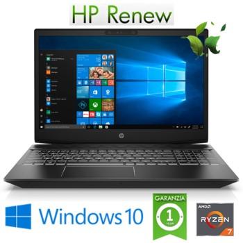Notebook HP Pavilion Gaming 15-ec0021nl R7-3750H 8Gb 512Gb SSD 15.6' NVIDIA GeForce 1650 4GB Win.10HOME