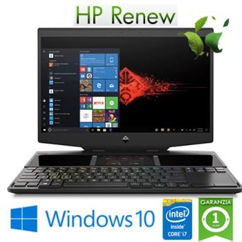 Notebook HP Omen X 15-dg0005nl i7-9750H 32Gb 512Gb SSD 15.6' FHD LED NVIDIA GeForce RTX 2070 8GB Win. 10 HOME