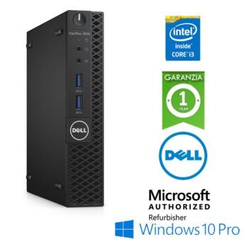 PC Dell Optiplex 3050 USFF Core i3-6100T 3.2GHz 8Gb Ram 500Gb No ODD Windows 10 Professional