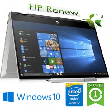 Notebook HP Pavilion x360 14-dw0013nl Intel Core i7-1065G7 1.3 GHz 8Gb 512Gb SSD 14' FHD LED Windows 10 HOME