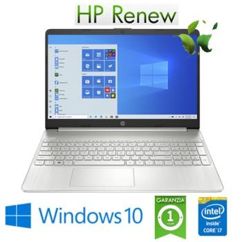 Notebook HP 15s-fq1034nl Intel Core i7-1065G7 8Gb 512Gb SSD 15.6' FHD LED Windows 10 HOME