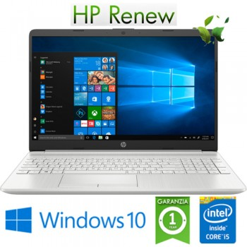 Notebook HP 15-dw2000nl Core i5-1035G1 1.0GHz 8Gb 512Gb SSD 15.6' FHDNvidia GeForce MX130 2GB Win. 10 HOME