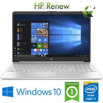 Notebook HP 15s-fq1039nl Intel Core i7-1065G7 1.3GHz 8Gb 256Gb SSD 15.6' FHD LED Windows 10 HOME