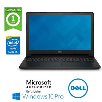 Notebook Dell Latitude E3560 Core i5-5200U 2.2GHz 8Gb 500Gb 15.6' WEBCAM Windows 10 Professional