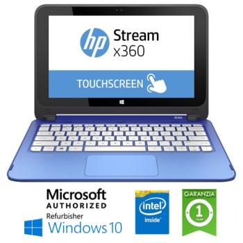 Notebook HP Stream 11-p000nl Intel Celeron N2840 2Gb 32Gb SSD 14' HD Windows 10 HOME