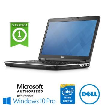 Notebook Dell Latitude E6540 Core i7-4800MQ 8Gb 256Gb 15.6' DVD WEBCAM Windows 10 Professional