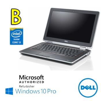 Notebook Dell Latitude E6320 Core i3-2310M 2.2GHz 8Gb Ram 320Gb 13.3' DVD-RW Windows 10 Professional [Grade B]